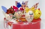 decoracao na escola com ovos de pascoa