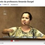 Professora Amanda Gurgel, vdeos, discurso