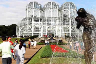 Parque Jardim Botânico Curitiba