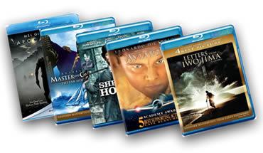 Promoção de Filmes em Blu Ray