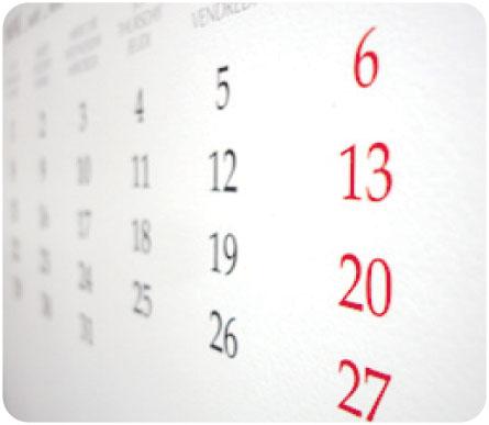 sinduscon mg, calendario de feriados 2011,  calendario de feriados 2011