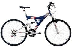 BicicletaMountainBikeAro26FullSuspension18vTB100XS