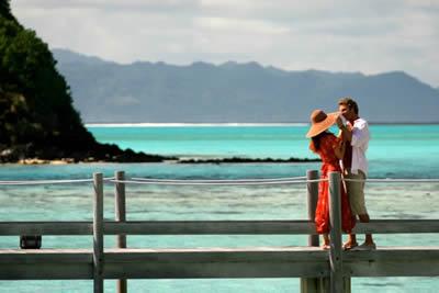 Casal no Tahiti