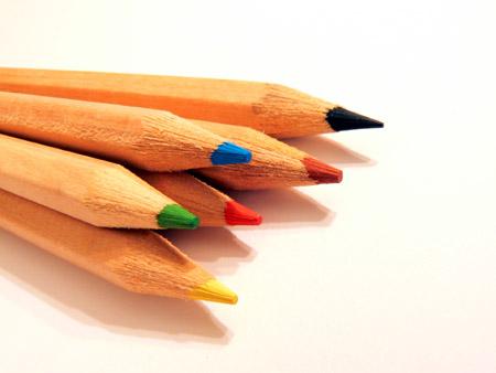 lápices de colores