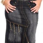 Saias jeans evangélicas Joyaly