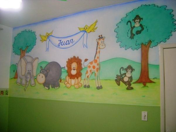 1300188941_52122993_1-Fotos-de--pintura-decorativa-de-desenhos-em-paredes-de-quartos-e-outros-ambientes