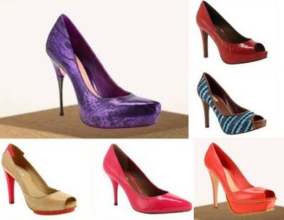 3 sapato colorido