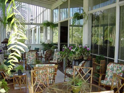 Decora o de jardim de inverno pequeno for Casas e jardins simples