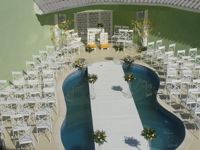 decorar um casamento:Se a decoração for para uma cerimônia que vá acontecer próximo a