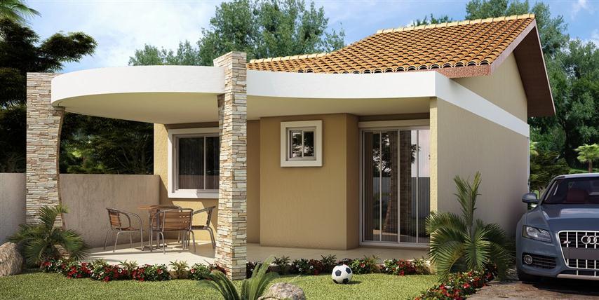 Projetos de casas pequenas e modernas gr tis - Reformas en casas pequenas ...
