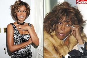 Whitney Houston fotos recentes atuais