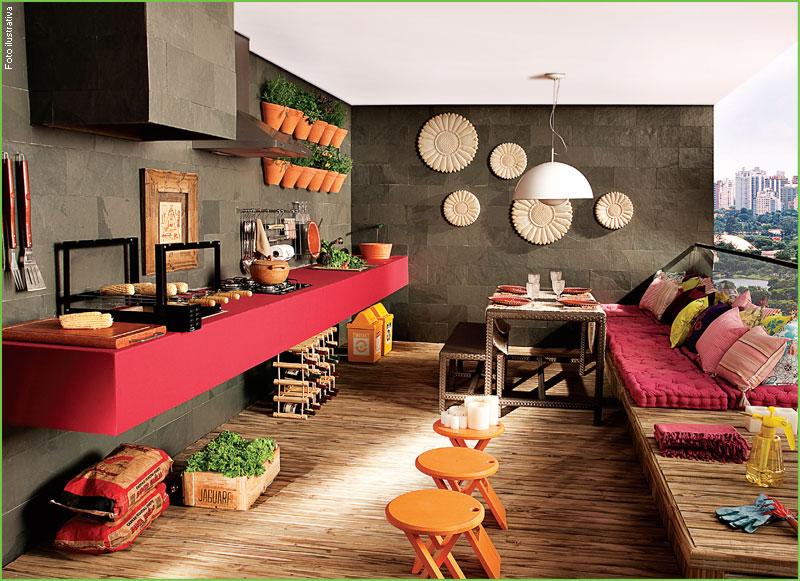 decoracao de apartamentos pequenos rustico : decoracao de apartamentos pequenos rustico:DECORAÇÃO DE ESPAÇO GOURMET: FOTOS