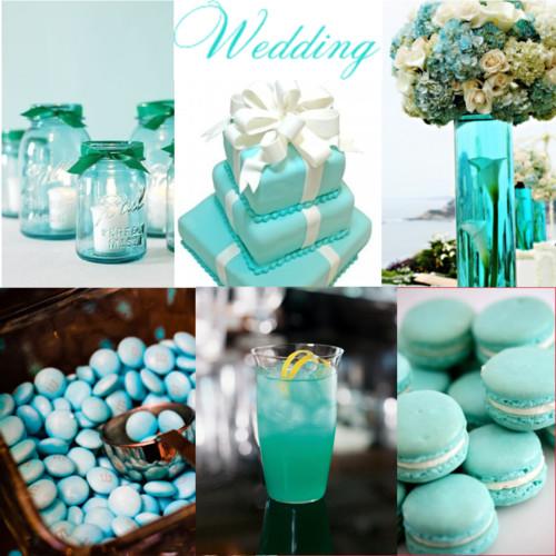 decoracao casamento azul turquesa e amarelo : decoracao casamento azul turquesa e amarelo:até mesmo o bolo que pode ser decorado com a cor azul turquesa