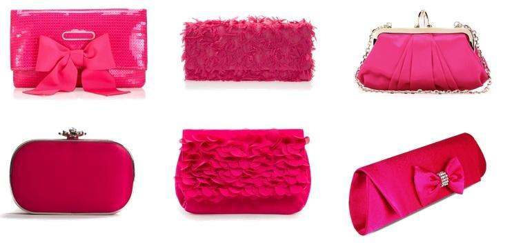 Bolsa De Mão Rosa Pink : Como usar bolsa de m?o em casamento