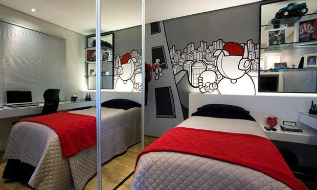 decoracao de apartamentos pequenos para homens:Decoração em pequenos espaços