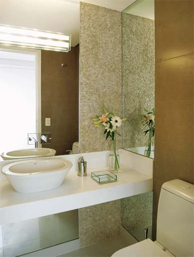 imagens decoracao lavabo : imagens decoracao lavabo:LAVABOS PEQUENOS E MODERNOS DECORADOS
