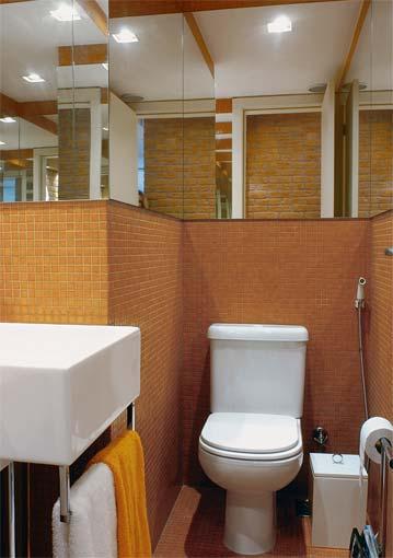 LAVABOS PEQUENOS E MODERNOS DECORADOS # fotos decoracao lavabo pequeno