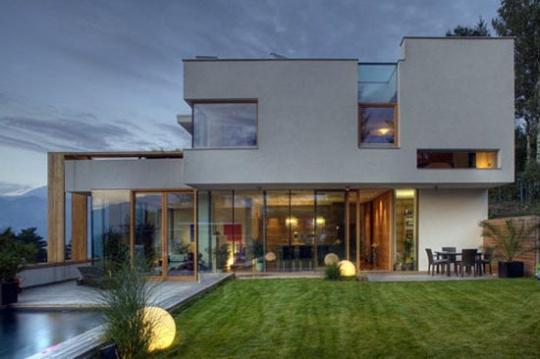 Casas com design moderno for Design moderno casa