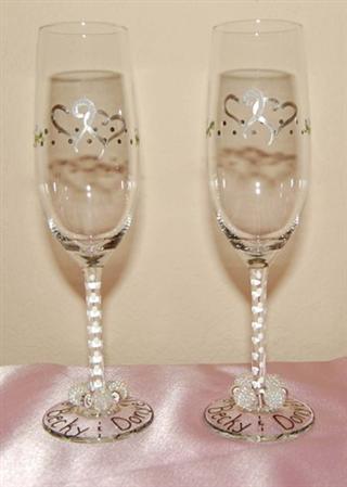 Copos de champanhe