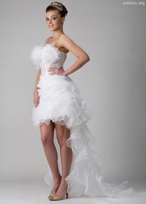 Vestidos De Noivas Curtos Na Frente E Longo Atrás