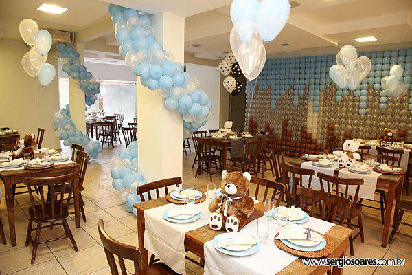 decoracao festa infantil azul e amarelo: .(Leia também sobre Decoração de casamento laranja e marrom