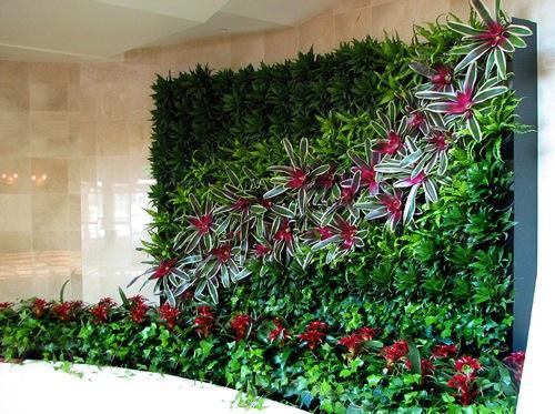 ideias jardins verticais:Ideias para jardins verticais
