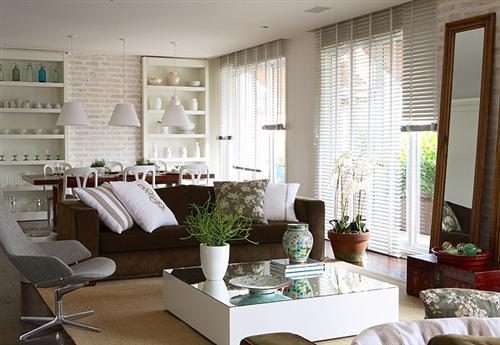 decoracao sofa branco:FOTOS DE DECORAÇÃO COM SOFÁ MARROM