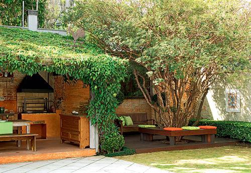 jardins quintal pequeno:Créditos:revistacasaejardim.globo.com