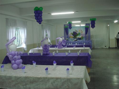 DECORA u00c7ÃO DE PRIMEIRA COMUNHÃO COM BAL u00d5ES -> Decoração Primeira Comunhão Igreja