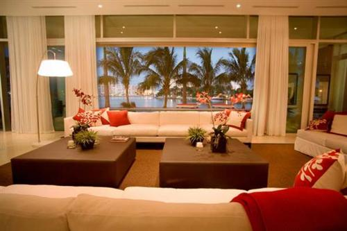 Decoracao De Sala De Estar Luxuosa ~ Decoração luxuosa de sala de estar (6)