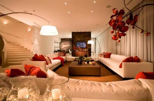 Decoracao De Sala De Estar Luxuosa ~ Decoração luxuosa de sala de estar (7)