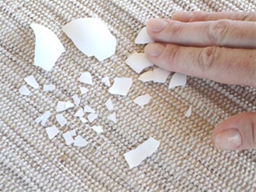 mosaico com casca de ovo 6 Mosaico com casca de ovo passo a passo