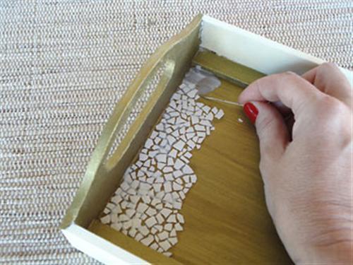 mosaico com casca de ovo 7 Mosaico com casca de ovo passo a passo
