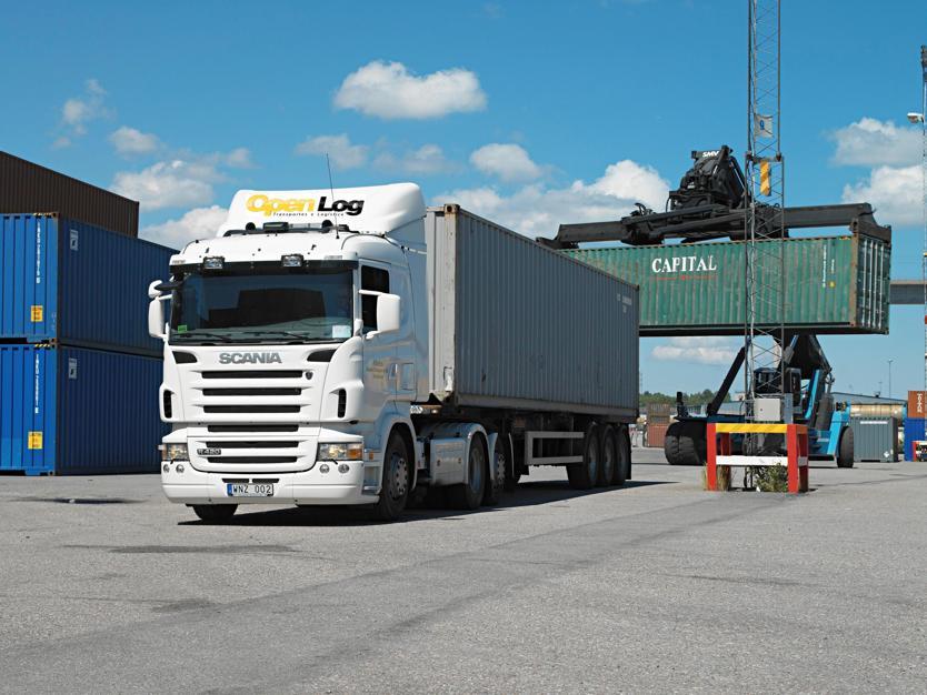 Scania R 420 6x2, Sweden.