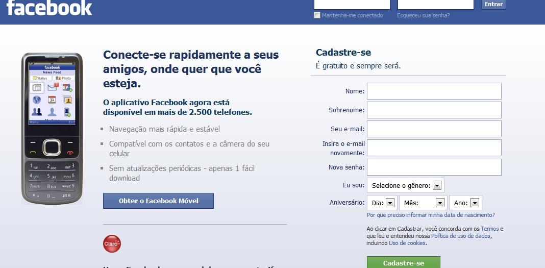 1 Facebook agora