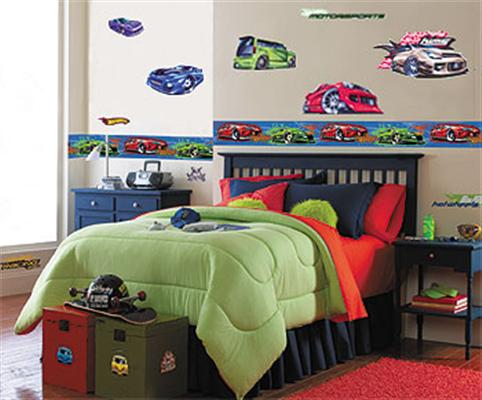Decora o hot wheels para quarto infantil for Decoracion pieza nino