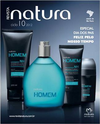 Capa da revista Natura dia dos pais 2012 (Foto: Divulgação).