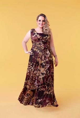 Modelos de Vestidos Plus Size para Madrinhas
