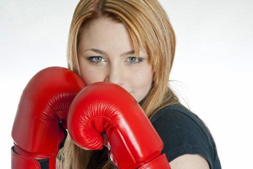 Boxe feminino. (Foto: Divulgação).