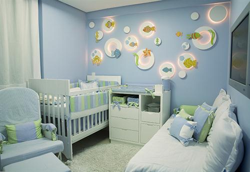 decoracao quarto bebe pequenos ambientes : decoracao quarto bebe pequenos ambientes:DECORAÇÃO PARA QUARTO DE BEBÊ PEQUENO