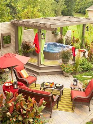 Rea externa com furo fotos modelos for Barras para exterior jardin