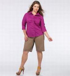 Dicas de Shorts para Gordinhas 8 Modelos de Shorts para Gordinhas