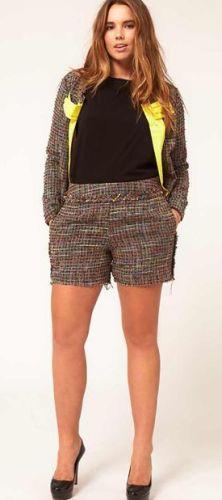 Dicas para Mulheres Plus Size 81 Modelos de Shorts para Gordinhas