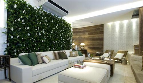jardim vertical apartamento pequeno:Jardim para apartamento – Modelos e fotos