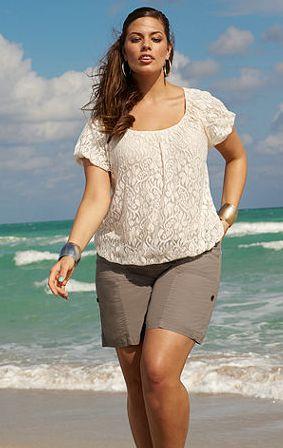 Modelos de Shorts para Gordinhas 8 Modelos de Shorts para Gordinhas