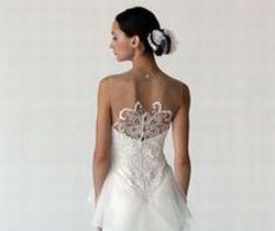 Vestidos de Noiva com Detalhes nas Costas
