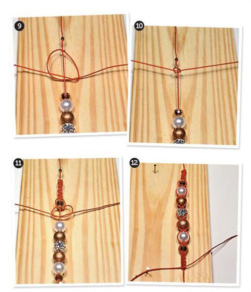 como fazer pulseira Pulseira shambala passo a passo
