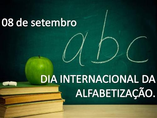 Frases Sobre O Dia Internacional Da Alfabetização