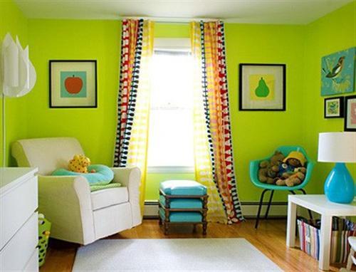 decoracao de quarto colorido