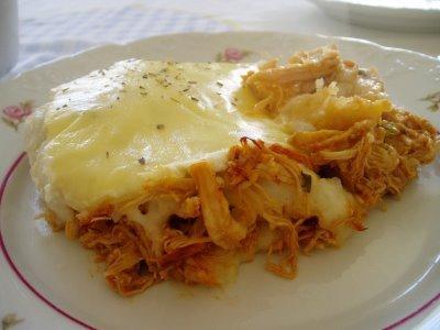Escondidinho de frango com purê de batata. (Foto: Divulgação).